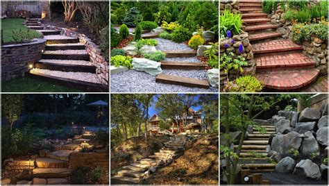 Gartentreppe Gestalten gartentreppen gestalten 20 wundersch 246 ne ideen