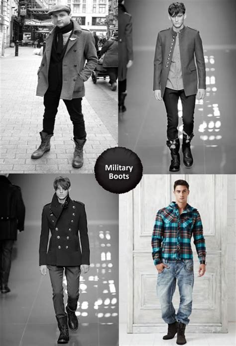 What Wear With Military Boots Men Top
