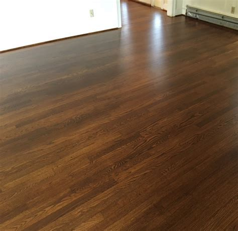 White Oak Floors in Antique Brown Pro Floor Stain & Pro