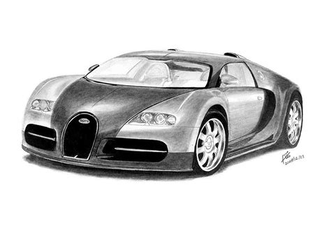 bugatti drawing with pencil drawing pinterest