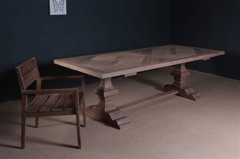 kvs table mozaik reclaimed teak furniture indonesia