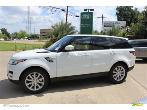 land rover hse white 2016 fuji white land rover range rover sport hse