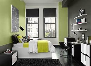 Graue Möbel Welche Wandfarbe : schlafzimmer modern gr ne farbe wand graue malerei pinterest wandfarbe schlafzimmer und haus ~ Markanthonyermac.com Haus und Dekorationen