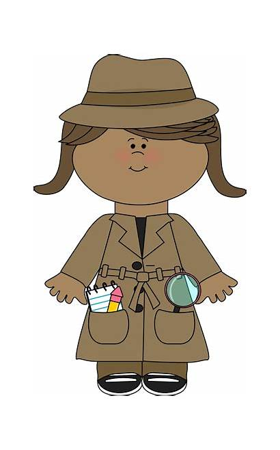 Detective Clipart Detectives Clip Kid Graphics Spy