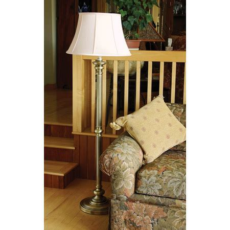 House of Troy N601 AB Newport Floor Lamp
