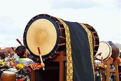 Gifs Festival Hamburger Ginoza Taiko Drummer Banging