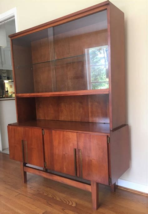 mid century modern china liquor display storage cabinet
