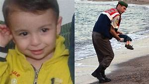 Drowned toddler Aylan Kurdi laid to rest in Syrian city he ...