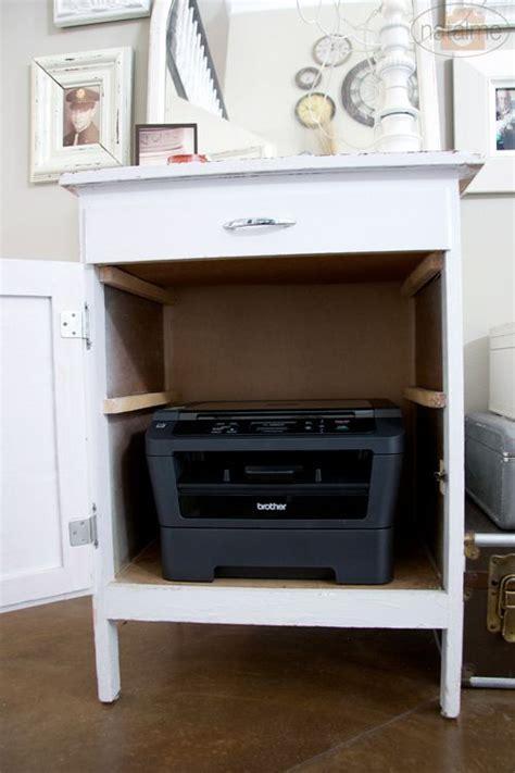 Hidden Printer Storage | Printer storage, Home, Home