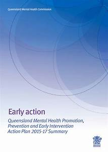 Promotion  Prevention  U0026 Early Intervention