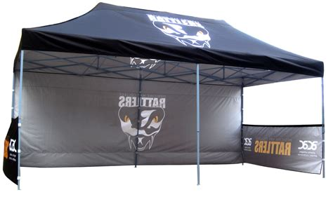 Custom Large 10x20 Canopy Tent with Walls 02 • Kittrich Canopy