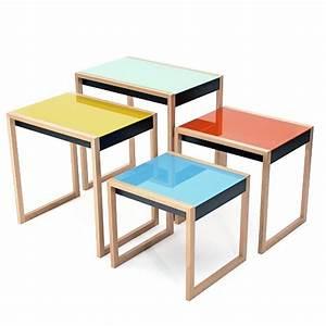 Table Gigogne Design : tables gigognes mobilier int rieurs ~ Teatrodelosmanantiales.com Idées de Décoration