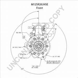 M125634  Heavy Duty Starter Motor