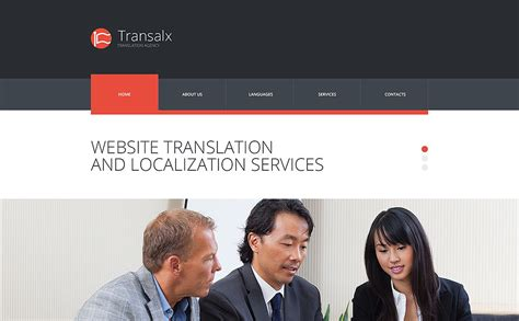translate bureau translation bureau responsive website template 53673
