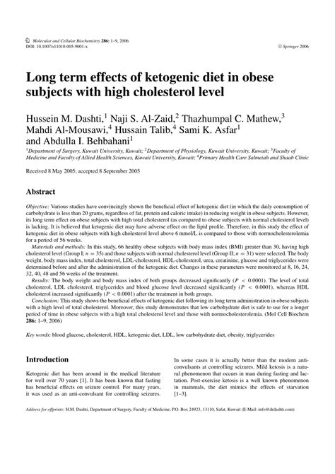 long term effects  ketogenic diet  obese