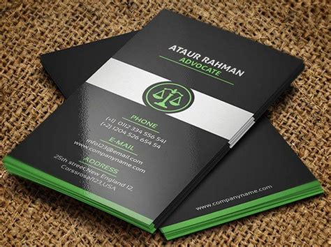 creative lawyer business card templates lawyer