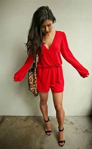 The HONEYBEE Valentines Day Look (Red Romper under $35!) #red #romper #jumpsuit #womens #style ...