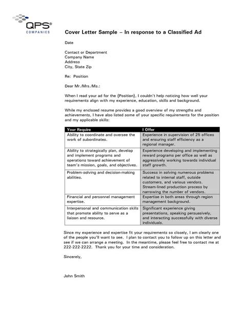 format cover letter template  cover letter template