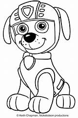 Patrol Paw Coloring Rocky Pages Printable Ryder sketch template