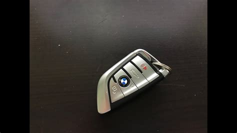 bmw key fob battery replacement  newer models diy youtube