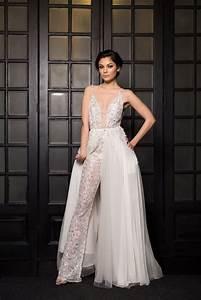 Jumpsuit Mit Schleppe : house of ollichon loves zenya bridal jumpsuit with detachable skirt detachablebridalskirt ~ Frokenaadalensverden.com Haus und Dekorationen