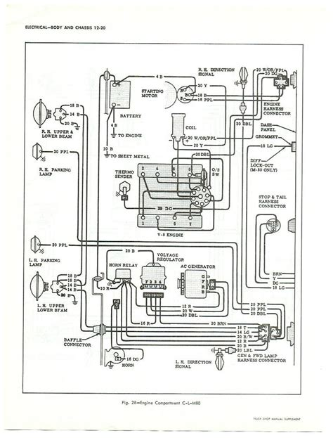 Chevy Truck Wiring Diagram Large Trucks But