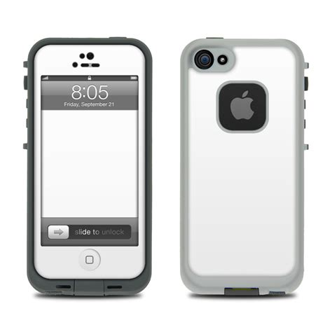 lifeproof for iphone 5 solid state white lifeproof iphone 5 skin istyles