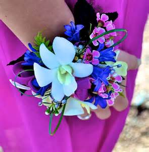 Prom Flower Wrist Corsage Ideas