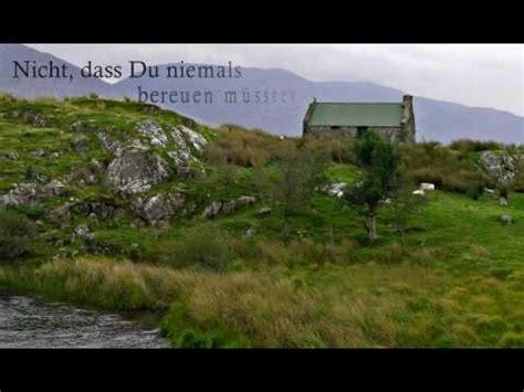 irischer segenswunsch youtube