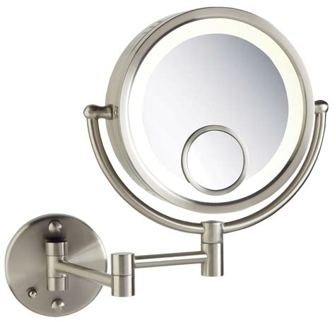 wall mounted makeup mirror with light australia