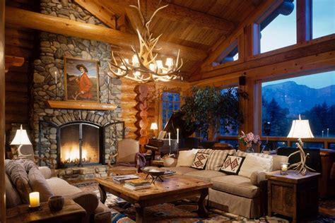 log home portfolio luxury home  log cabin style