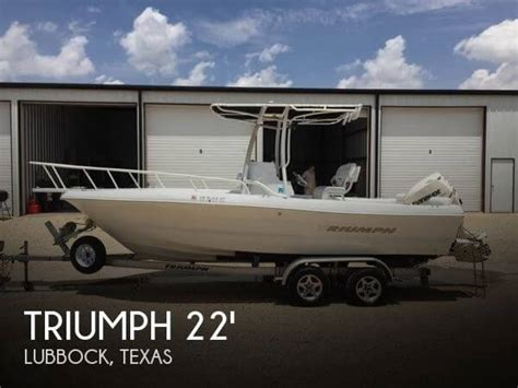 Boat Dealers Lubbock Tx by Sold Triumph 215 Tournament Edition Boat In Lubbock Tx