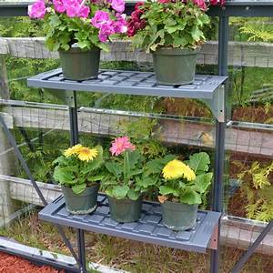 Etagere Pour Serre : doubles tag res en pvc pour serre de jardin palram ~ Premium-room.com Idées de Décoration