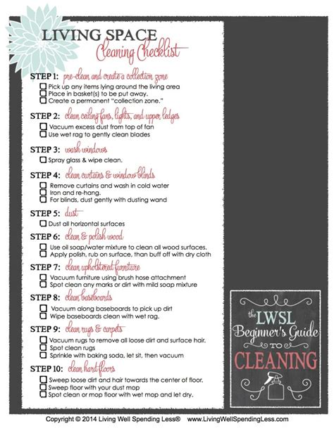 beginners guide  cleaning part  living  spending