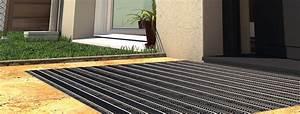 tapis d39entree sur mesure encastrable et paillasson exterieur With tapis encastrable sur mesure