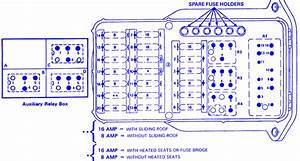 Mercy 380 Sel 1989 Fuse Box  Block Circuit Breaker Diagram