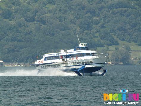 Fast Boat Bellagio To Como by Picture Sx18947 Hydrofoil Fast Boat On Lake Como