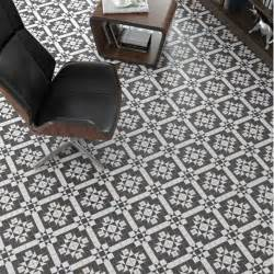 floor tiles ceramic black and white matt hallways kitchens