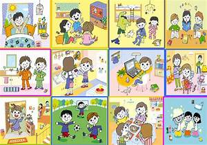 Clip Art Of Daily Activities Clipart - Clipart Suggest