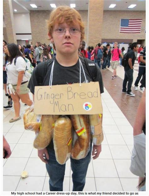 Pregnant After One Night Stand by Ginger Bread Man Funny Halloween Costumes Dump A Day