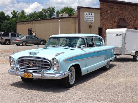 Curbside Classic: 1957 Nash Ambassador – Getting Its Kicks ...