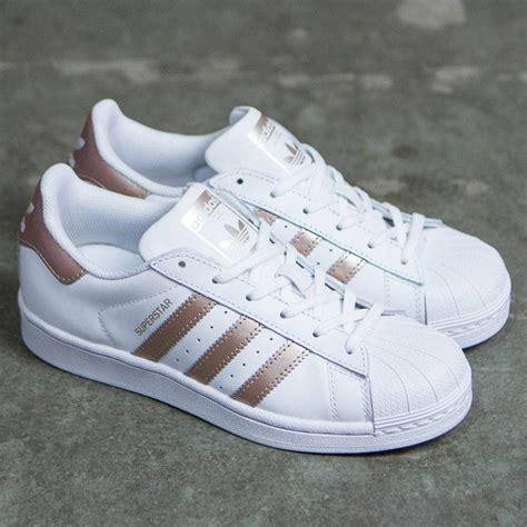 Adidas Women Superstar rose gold footwear white