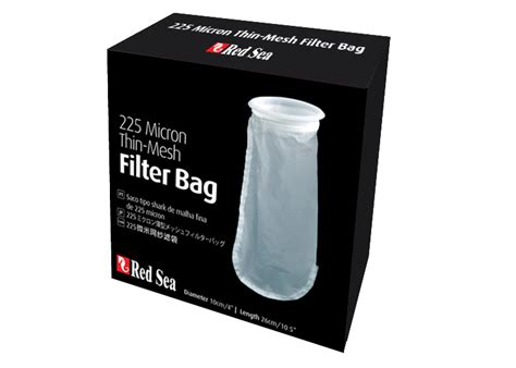 micron filter bags for marine coral reef aquariums sea