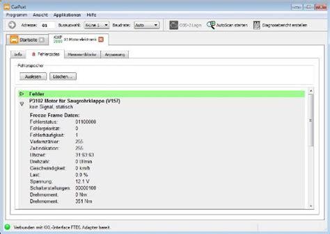 vw diagnose software autodia k509 mit carport software vollversion basis modul