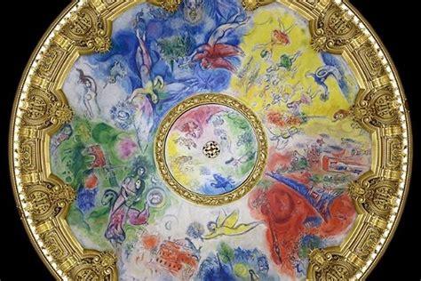 plafond de l opera chagall en images visiter l op 233 ra de sans bouger de chez