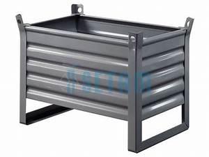Caisse Palette Métallique : caisse palette industriellle m tallique charge 900 kg ~ Edinachiropracticcenter.com Idées de Décoration