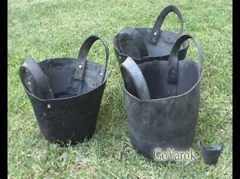recycled tire basket goyarok youtube