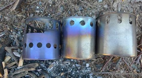 toaks titanium wood stove section hikers backpacking blog