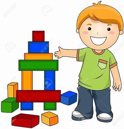 Blocks Clipart Block Toys Toy Boy Clip