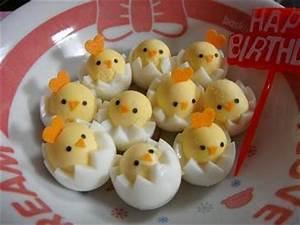 Gekochte Eier Dekorieren : food art oeufs durs ~ Markanthonyermac.com Haus und Dekorationen